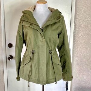 Olive Green Warm Jacket